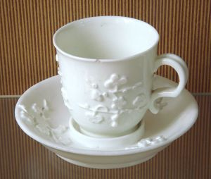 early french Saint Cloud cup and saucer