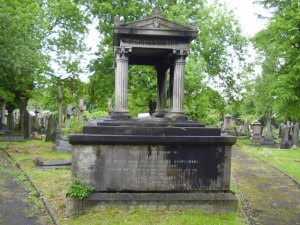 tomb at West Norwood Cemetery